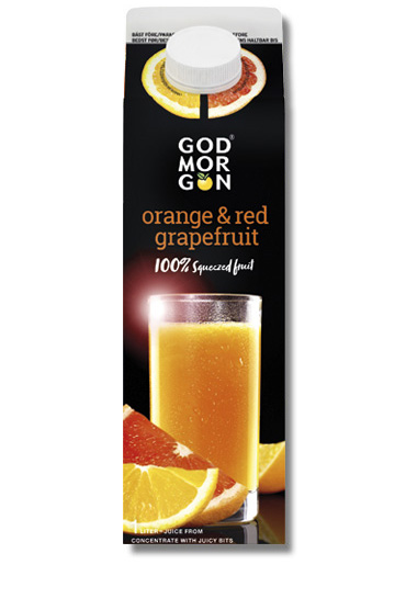 God Morgon Classic Orange & Red Grapefruit 1,0 L