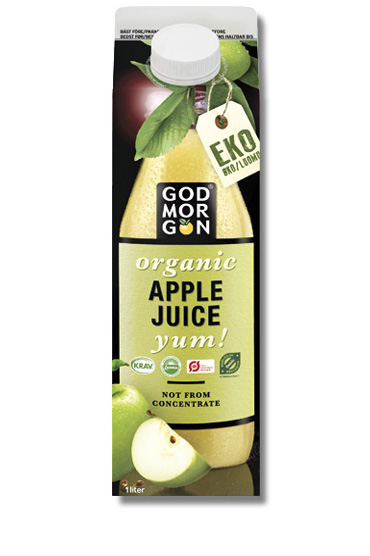God Morgon Organic NFC Apple Juice Yum NFC 1,0 L