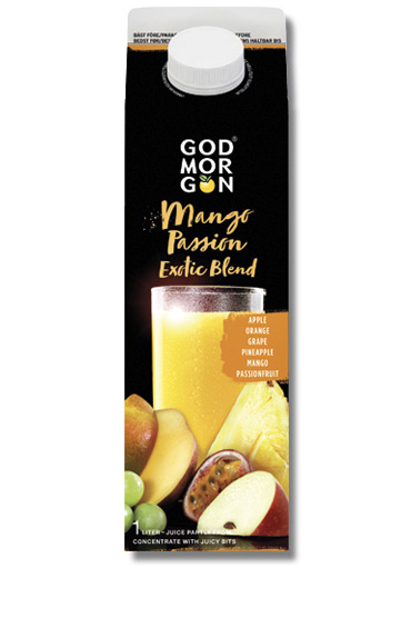 God Morgon Inspiration Mango Passion Exotic Blend 1,0 L