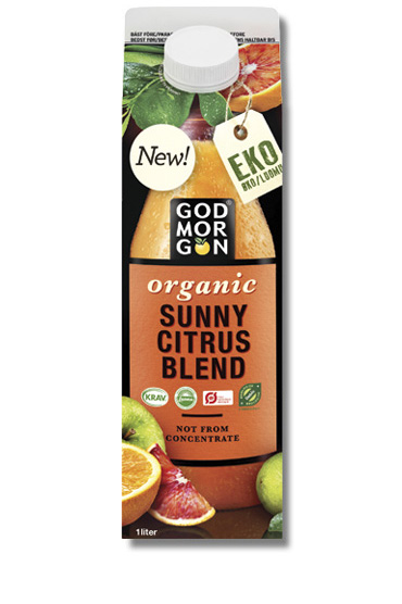 God Morgon Organic Sunny Citrus Blend NFC 1,0 L